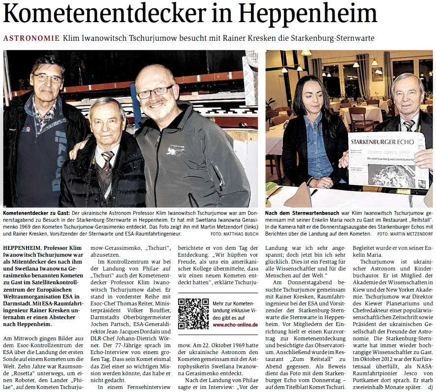 Starkenburger Echo - 14.11.2014
